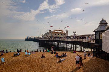 A photo of Brighton pier, Tillr's new office location