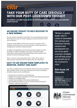 COVID-19 Post-Lockdown Toolkit Pack
